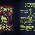1985 Rotting Corpse Thrash Insane Or Die In Pain Dec. 31 - Jan. 4 Tour Shirt