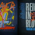 1986 Reign In Blood Hand Cross Tour Shirt