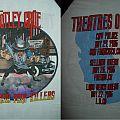 1985 Motley Crue California Pain Killers Nov. 24 -27 Tour Shirt