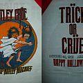 1985 Motley Crue Happy Halloween Oct. 30 Tour Shirt