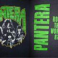 1987 Pantera Rock the World TShirt or Longsleeve