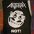 Anthrax Not! back patch