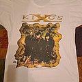 """King's X - TShirt or Longsleeve - King's X """"Faith Hope Love"""" desert w/ flower"""