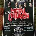 Metal Church - Other Collectable - Metal Church Spring Metal Fest 2019 poster