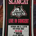"""Slamcat - Other Collectable - Slamcat """"Live at The Warclub"""" concert flyer"""