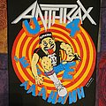 Anthrax State of Euphoria back patch