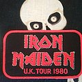 U. K. TOUR 80 Patch