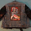 Denim & Leather Battle Jacket