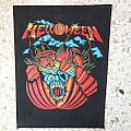 Helloween first ep backpatch available.