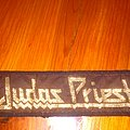 Judas Priest - Patch - Judas Priest mini strip brown inner black border
