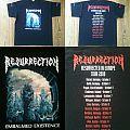 RESURRECTION Resurrected In Europe 2010 Shirt