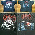 OBITUARY Pile Of Skulls European Tour 1991 TShirt or Longsleeve