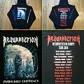 RESURRECTION Resurrected In Europe 2010 Hoodie Hooded Top