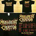 MALEVOLENT CREATION The fine Art Tour 1999 TShirt or Longsleeve