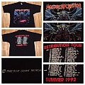 MALEVOLENT CREATION - Retribution Tourshirt 1992
