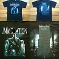 IMMOLATION Majesty And decay Tourshirt 2010