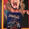 "Judas Priest ""Painkiller"" Boot (Blue border)"
