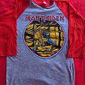 Iron Maiden - Piece of Mind Baseball Jersey TShirt or Longsleeve