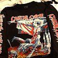 Cannibal Corpse - TShirt or Longsleeve - Cannibal Corpse - ToTM Euro Tour Shirt 1993