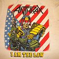 Anthrax- I Am The Law shirt