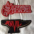 Saxon/Anvil patches