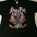 Skull Fist slave to the road shirt