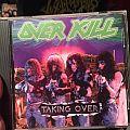 Overkill Taking Over Tape / Vinyl / CD / Recording etc