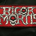 Rigor Mortis logo patch