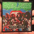 Taking Over woven patch