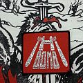 H bomb-vintage logo patch