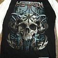 Heathen Chaos Of Evolution 2011 Tour Shirt