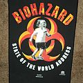 Biohazard State Of The World Address Back Patch