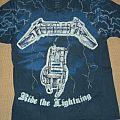 Metallica - TShirt or Longsleeve - Metallica Ride The Lightning Shirt