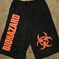 Biohazard Hardcore Shorts Signed Flyer TShirt or Longsleeve