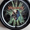 Megadeth Wall Clock Other Collectable
