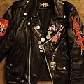 Dirty Rotten Imbeciles DIY Leather Jacket