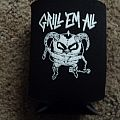 Grill Em All Death To False Burgers Koozie Other Collectable