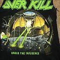 Overkill Under The Influence Shirt