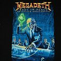 Megadeth Rust In Peice 20th Anniversary Tour Shirt
