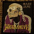 Megadeth Mary Jane Patch