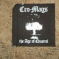 Cro-Mags The Age Of Quarrel Patch