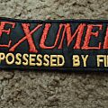 Exumer Possesed By Fire Logo Patch