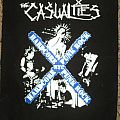 The Casualties Hardcore Punk Rock NYC Back Patch