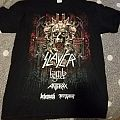 Slayer: Final Tour first leg tour shirt 2018