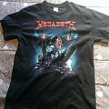 Megadeth: VIsual Prowess/World Tour 2016 shirt