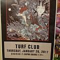 Alcest Turf Club gig poster Other Collectable