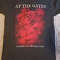 At The Gates: To Drink From the Night Itself tour shirt 2018