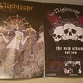 Autographed Nightrage posters  Other Collectable