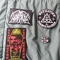 Mutilacion patches, sticker and pin