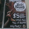 Skeletonwitch: Well of Despair Beer poster